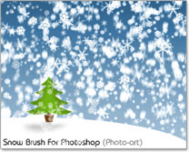 Snow Brush - Photo-art